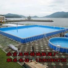 北京厂家供应定做加厚水上成人儿童支架游泳池 大型水上乐园 游艺设施批发