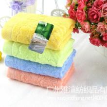 供应竹纤维熊猫竹子童巾厂家热销爆款2550舒适柔软小孩洗脸毛巾图片