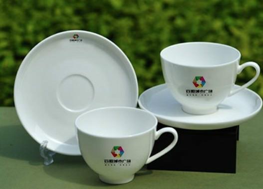 特级骨瓷咖啡杯套装定制LOGO销售