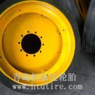 钢厂铁水车实心轮胎1400-24图片