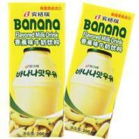 韩国宾格瑞香蕉牛奶进口清关代理