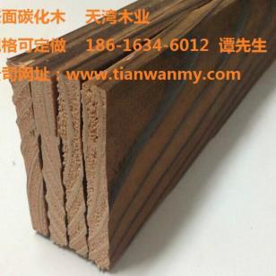 海南表面碳化木板材加工厂图片