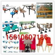 连体餐桌椅组合生产厂家图片