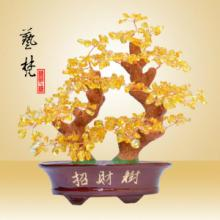 供应批发树脂工艺品摆件创意礼品招财树
