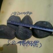 山东聊城3-5厘米黑色鹅卵石厂家图片