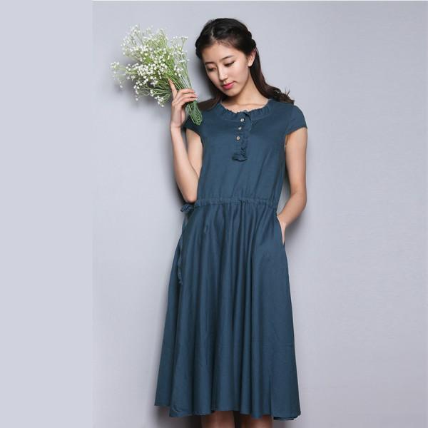 供应用于批发的广州品牌女装系恋14秋装连衣裙秋装品牌尾货批发